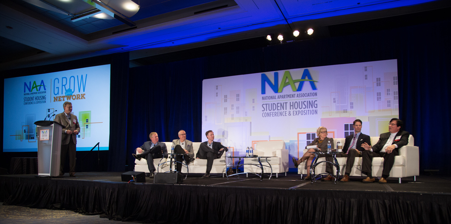 Images from the 2016 National Apartment Association (NAA) Student Housing Conference at Hyatt Regency Chicago in Chicago, IL on Wednesday, February 17, 2016. Photo by Tracy Boulian